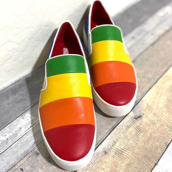 Michael Kors Shoes - Michael Kors Rainbow Pride Collection Size 9.5M